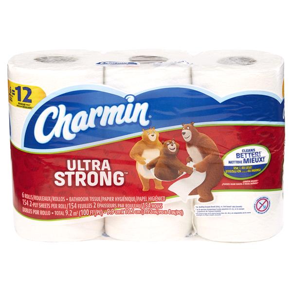 Charmin Ultra Strong Toilet Paper 6 Double Rolls Meijer