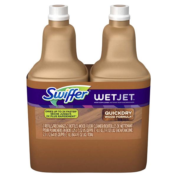 Swiffer Wetjet Multi Purpose Hardwood Floor Cleaner Solution Refill