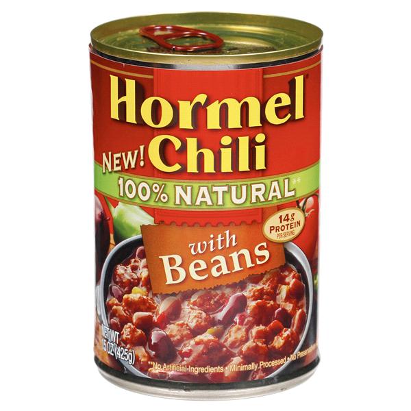 Hormel 100% Natural Chili