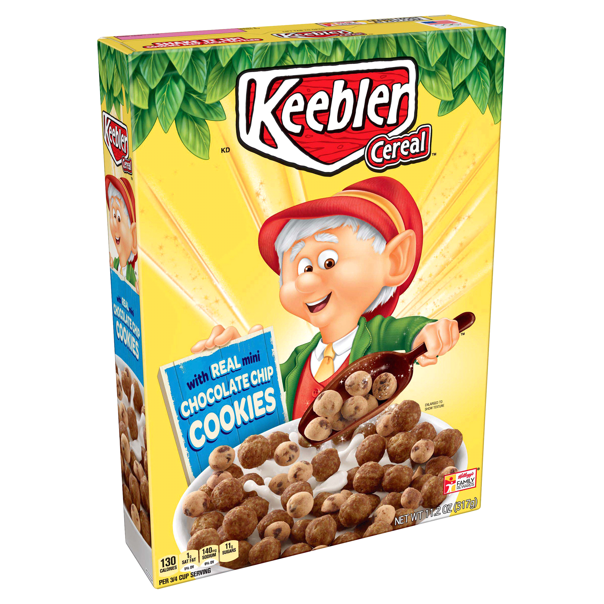 Keebler Cereal Chocolate Chip Cookies 11.2 Oz | Meijer.com