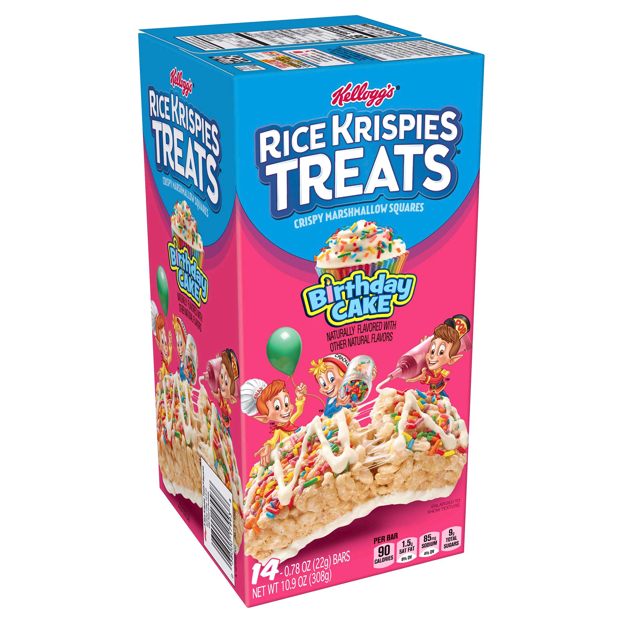 Kelloggs Rice Krispies Treats Birthday Cake