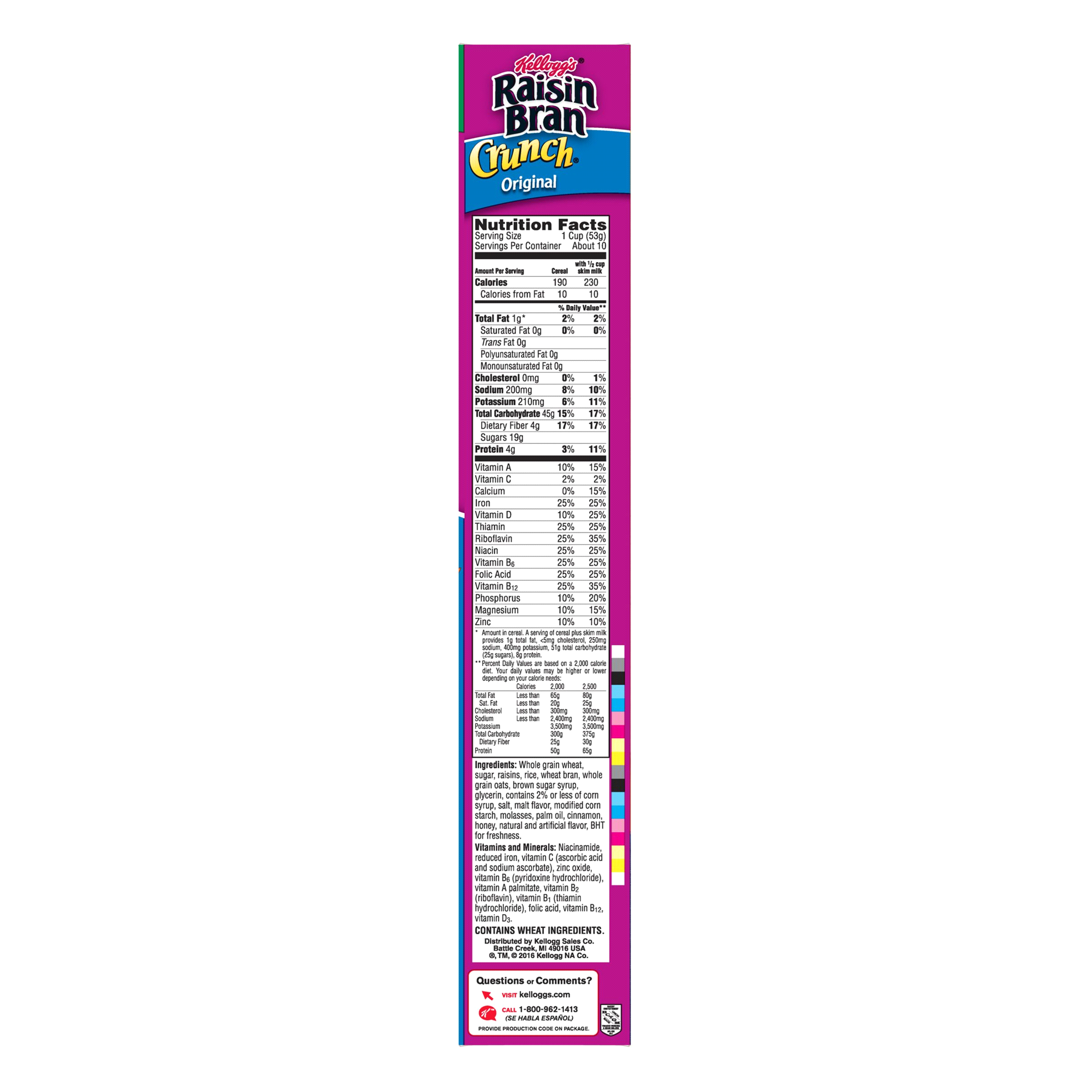 kelloggs raisin bran crunch cereal 18.2 oz | meijer