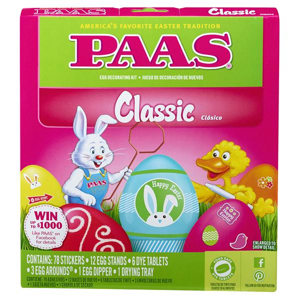 PAAS Classic Easter Egg Dye Kit | Meijer.com