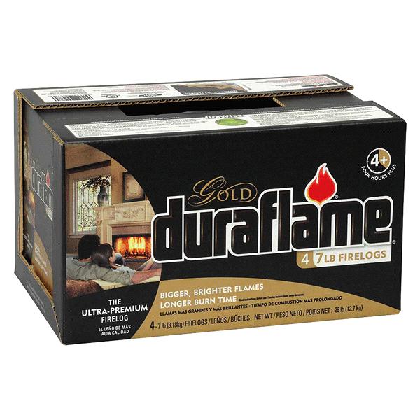 b41c4d3c79d Duraflame 4 Pack 6 lb. Ultra-Premium Gold Firelogs