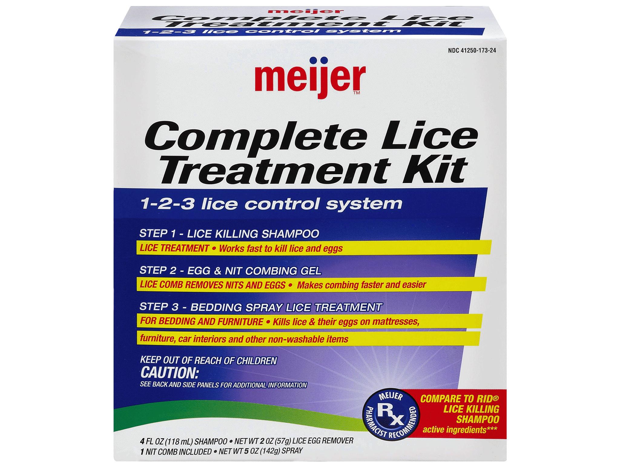 Meijer Complete Lice Treatment Kit Meijer