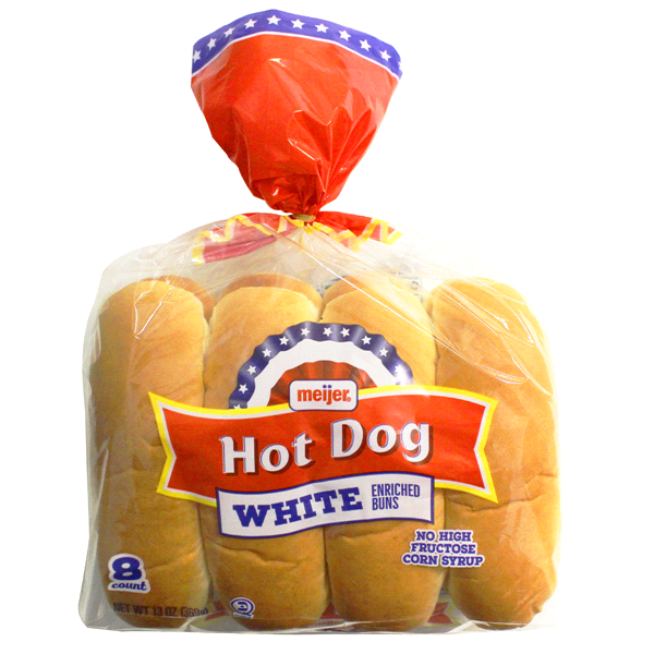 Meijer Dog Buns 8 Count