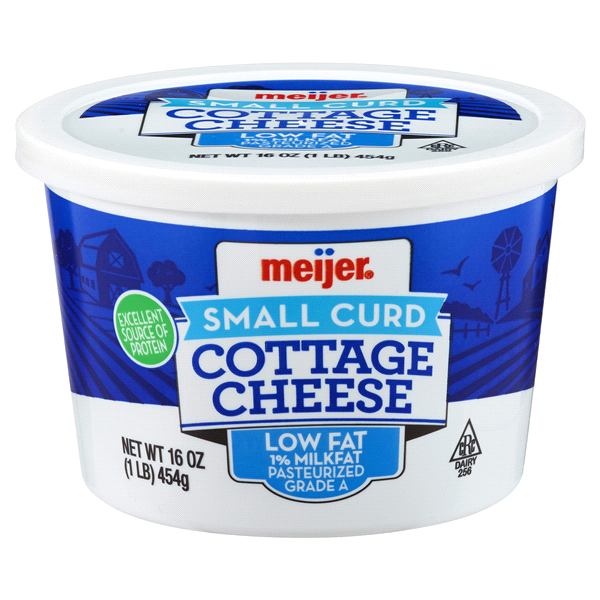 Meijer Lowfat Cottage Cheese 16 Oz