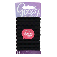 Goody Black Ouchless Elastic 24 ct 6157461048e
