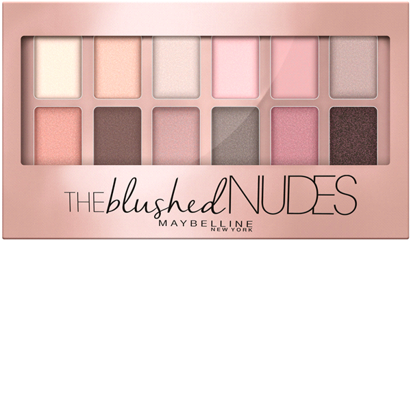 Maybelline® New York The Blush Nudes Shadow Palette 0.34 oz