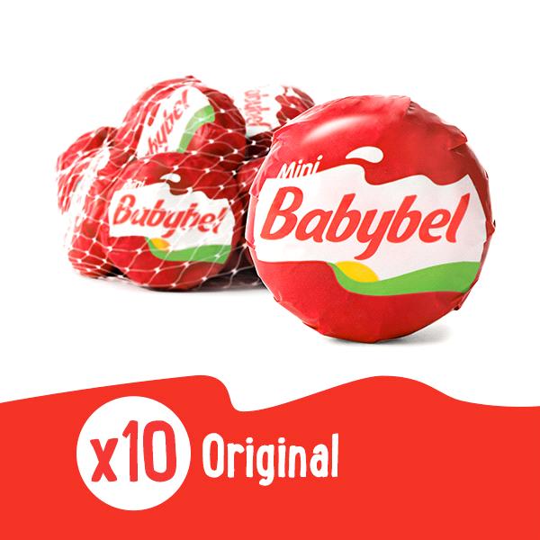 Mini Babybel Snack Cheese Original 10 ct 7.5 oz
