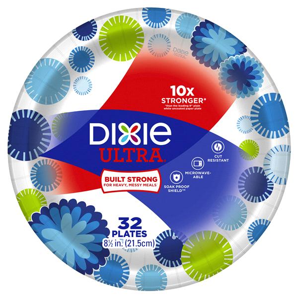 Dixie Ultra® 8 1/2 32ct Paper Plates  sc 1 st  Meijer & Dixie Ultra® 8 1/2 32ct Paper Plates | Meijer.com