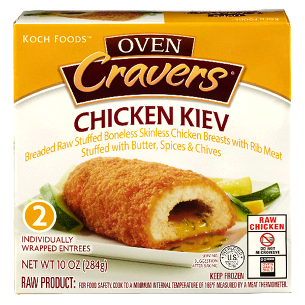 Oven Cravers Stuffed Chicken Kiev Meijer