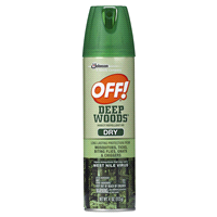 Off Deep Woods Insect Repellent Viii Dry 4oz