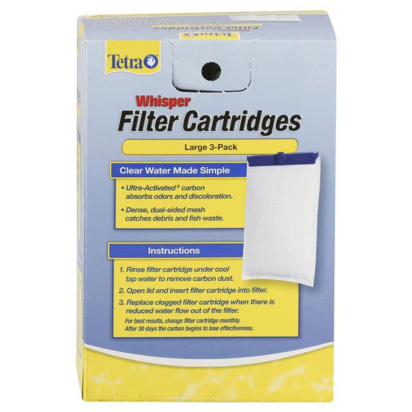 Tetra Whisper Filter Cartridge Large 3pk Meijer