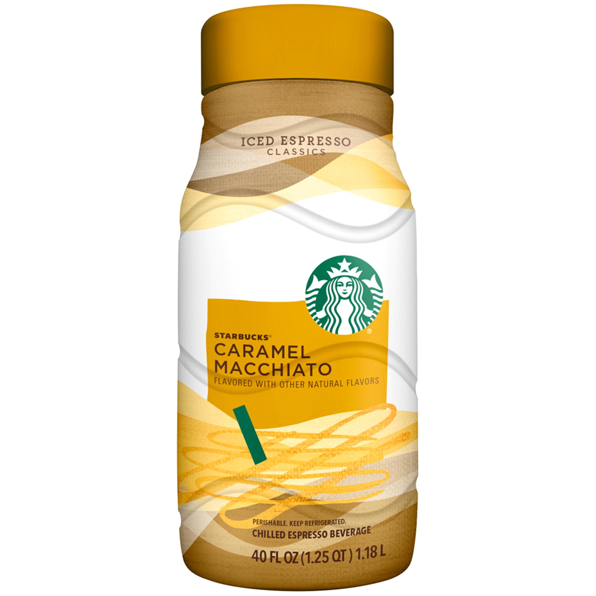 Starbucks® Caramel Macchiato Chilled Espresso Beverage 40 fl oz ...