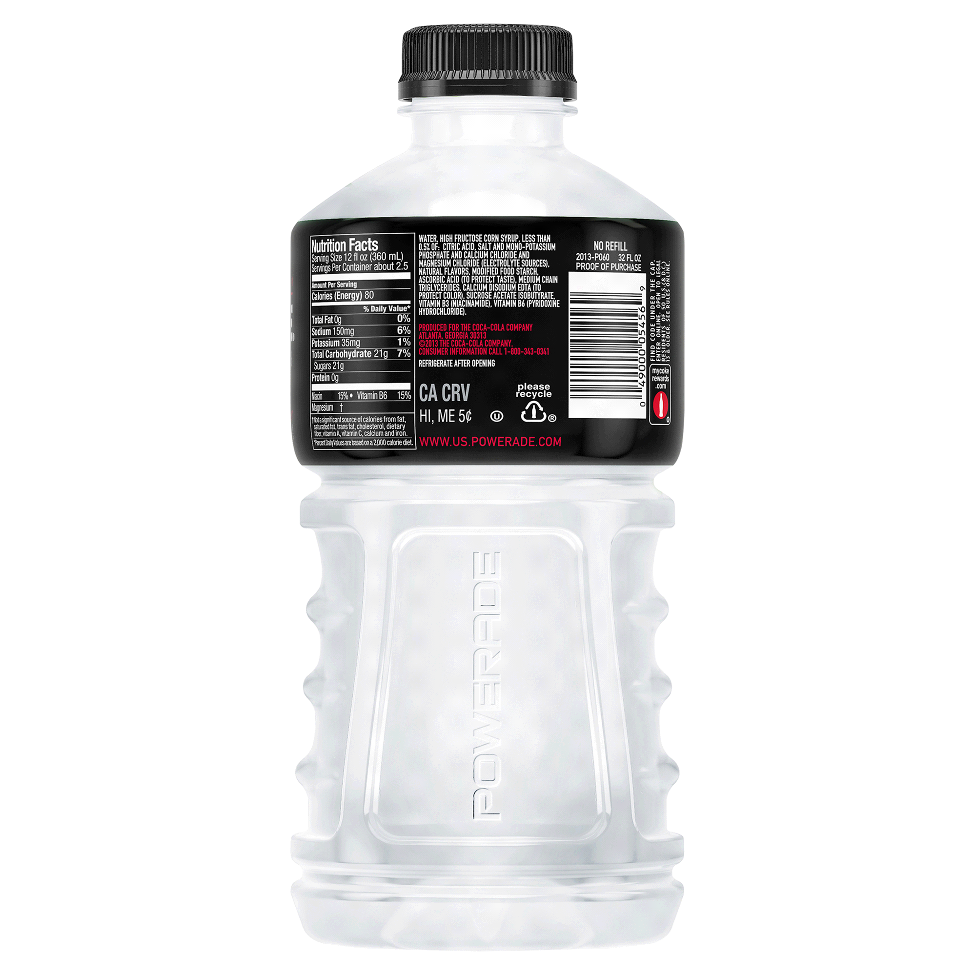 Powerade White Cherry 32 Oz Bottle Meijer Com