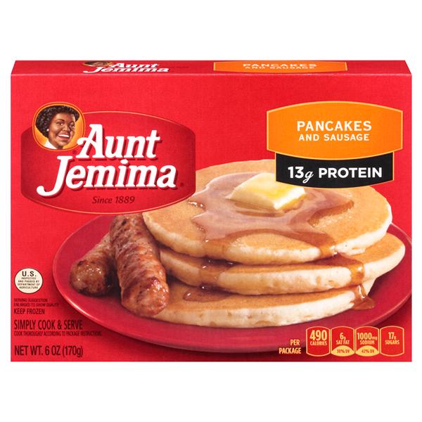 Aunt Jemima Pancakes Sausage 6 oz Meijercom