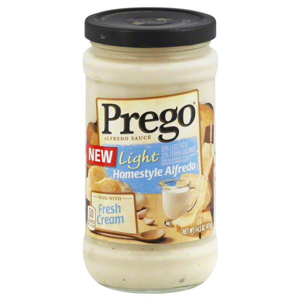 Prego Light Homestyle Alfredo Sauce 14.5 Oz Nice Design