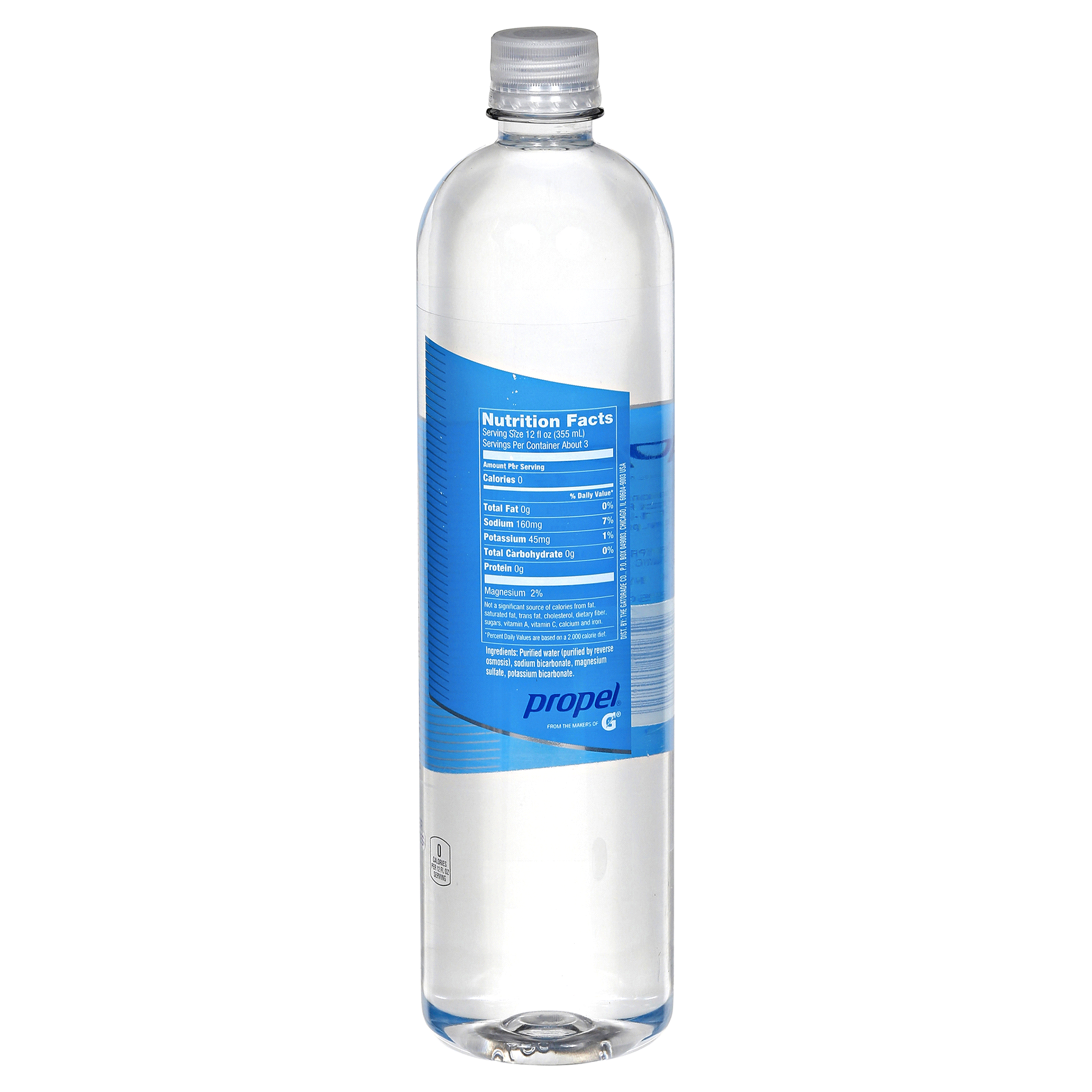 Propel Purified Water with Electrolytes Unflavored 1 Liter