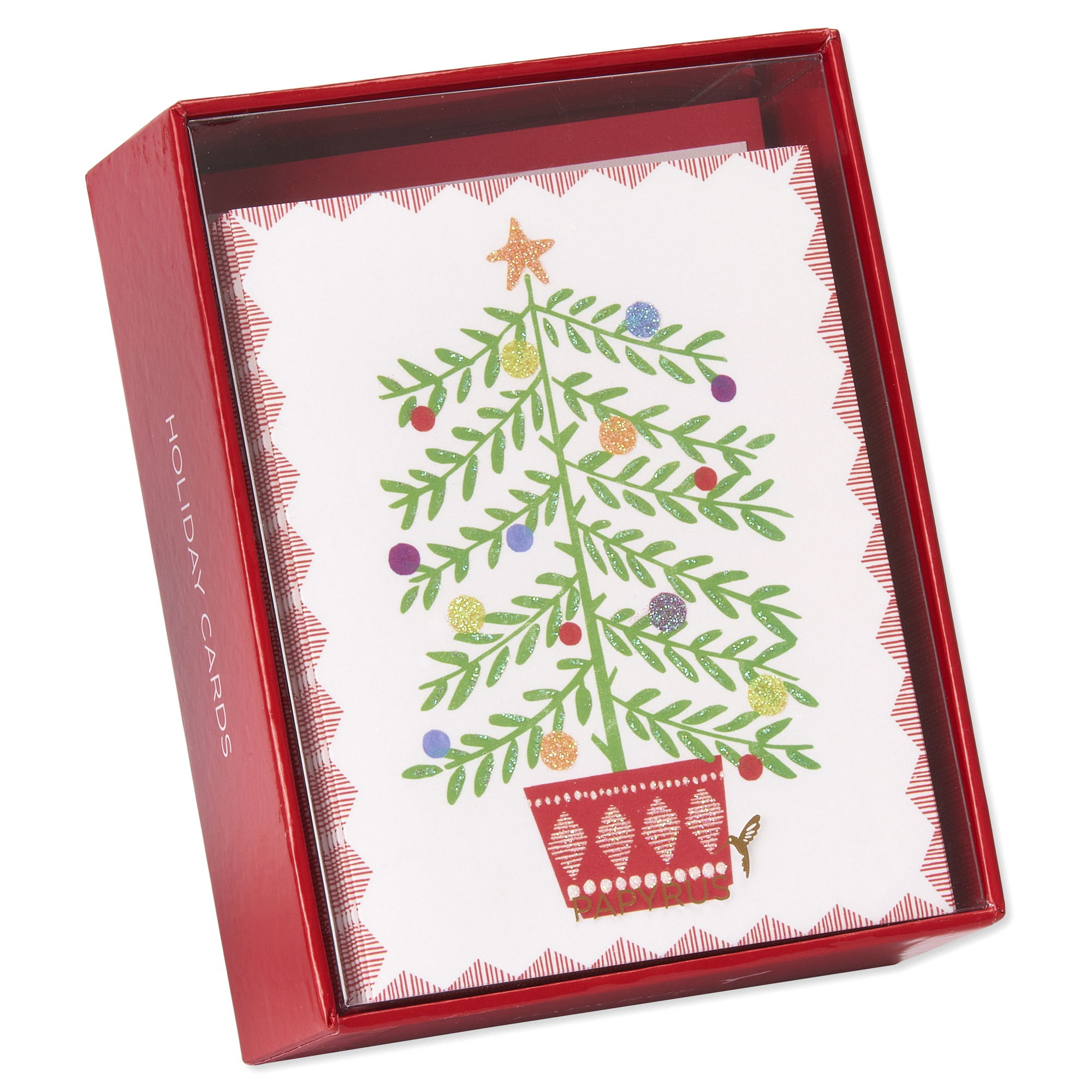 Papyrus Sweet Tree In Pot Prelude Holiday Boxed Cards | Meijer.com