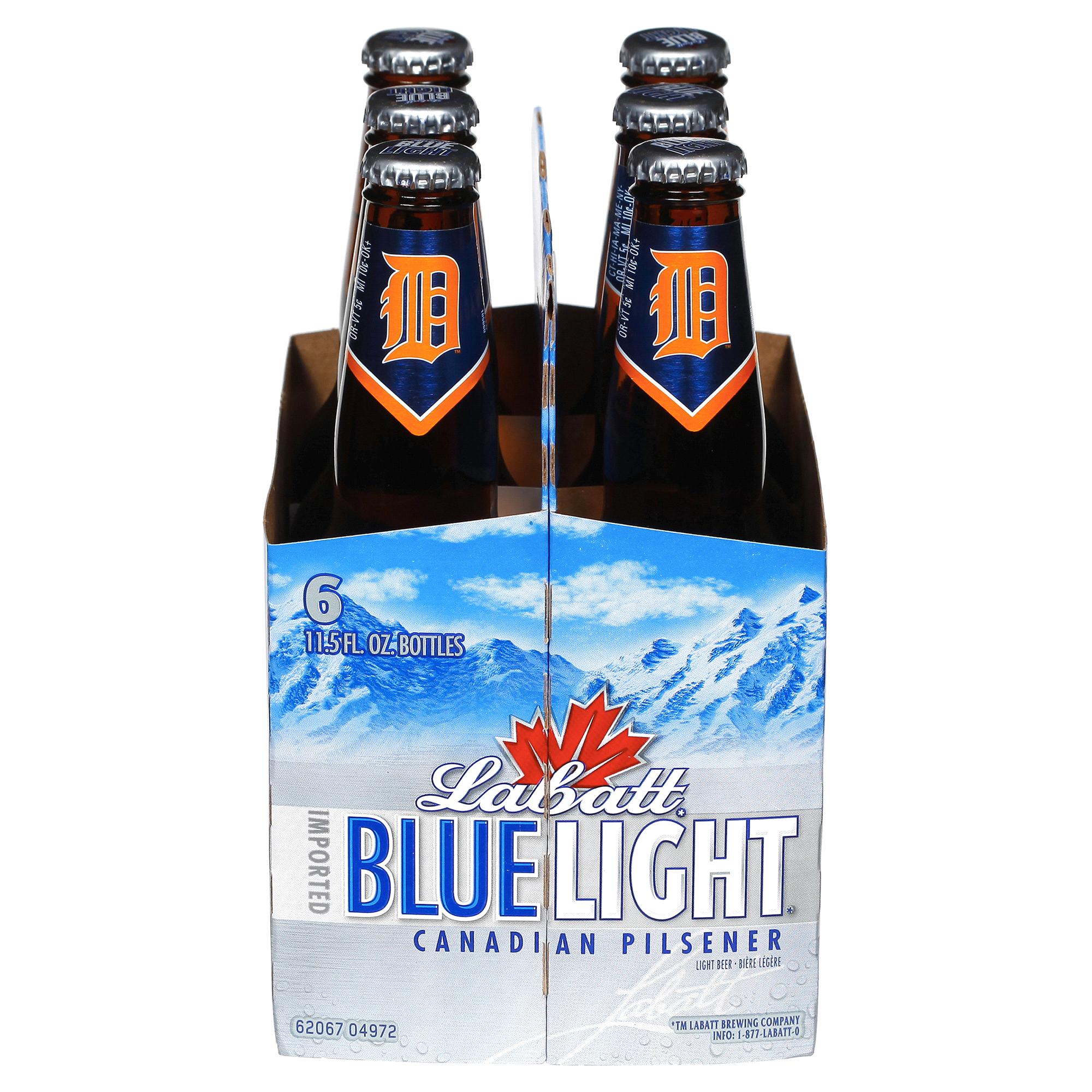 Labatt Blue Light Beer 11.5 Oz 6 Pk | Meijer.com
