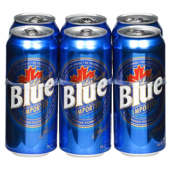 Labatt Blue Beer 16 oz 6 pk  6ad31f796df6