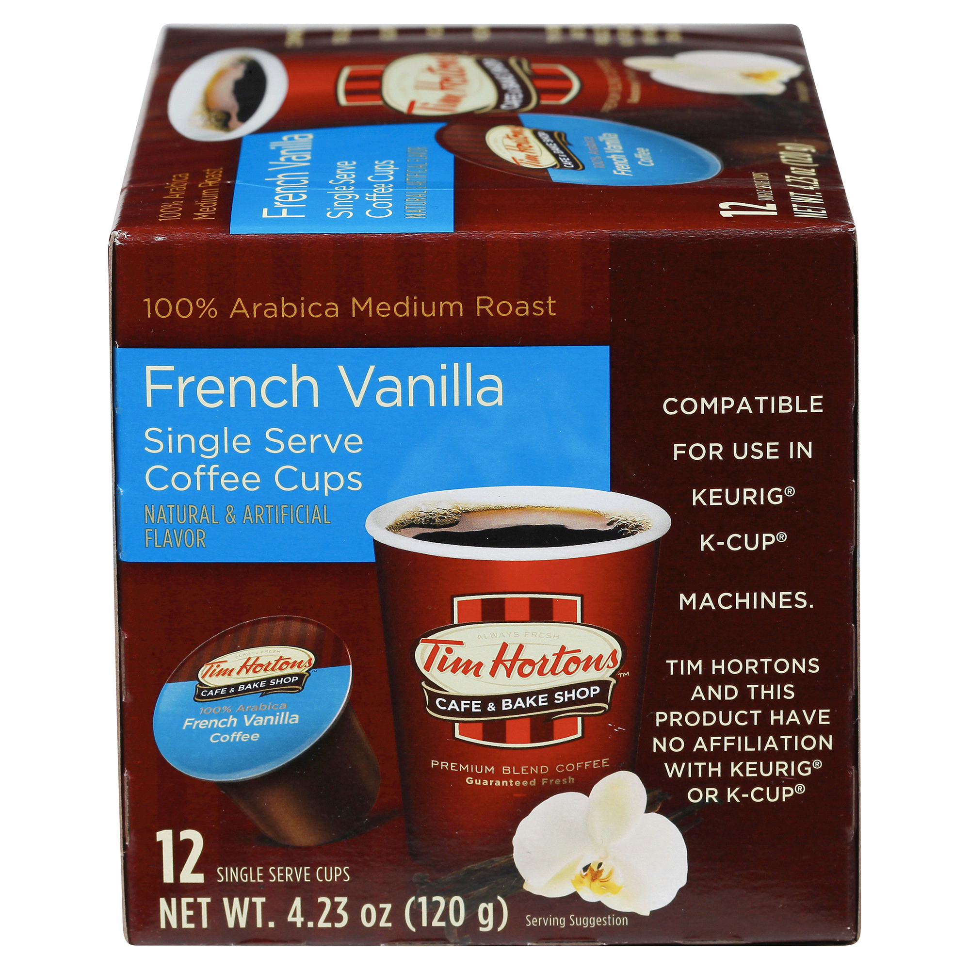 Tim Hortons Keurig French Vanilla Nutrition