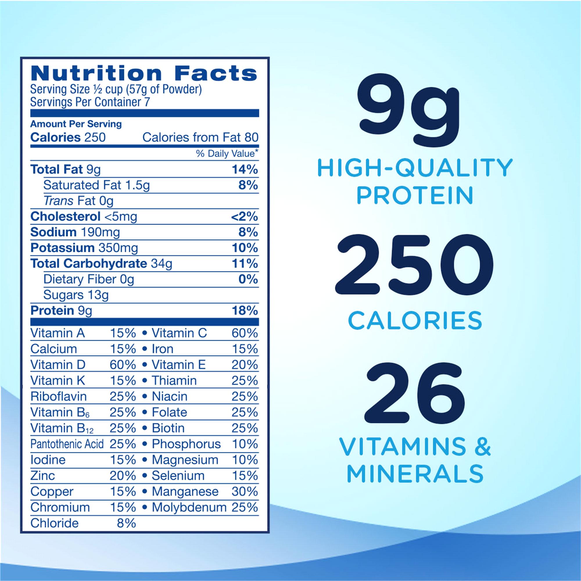 Ensure® Original Nutrition Powder Vanilla 14 oz | Meijer.com