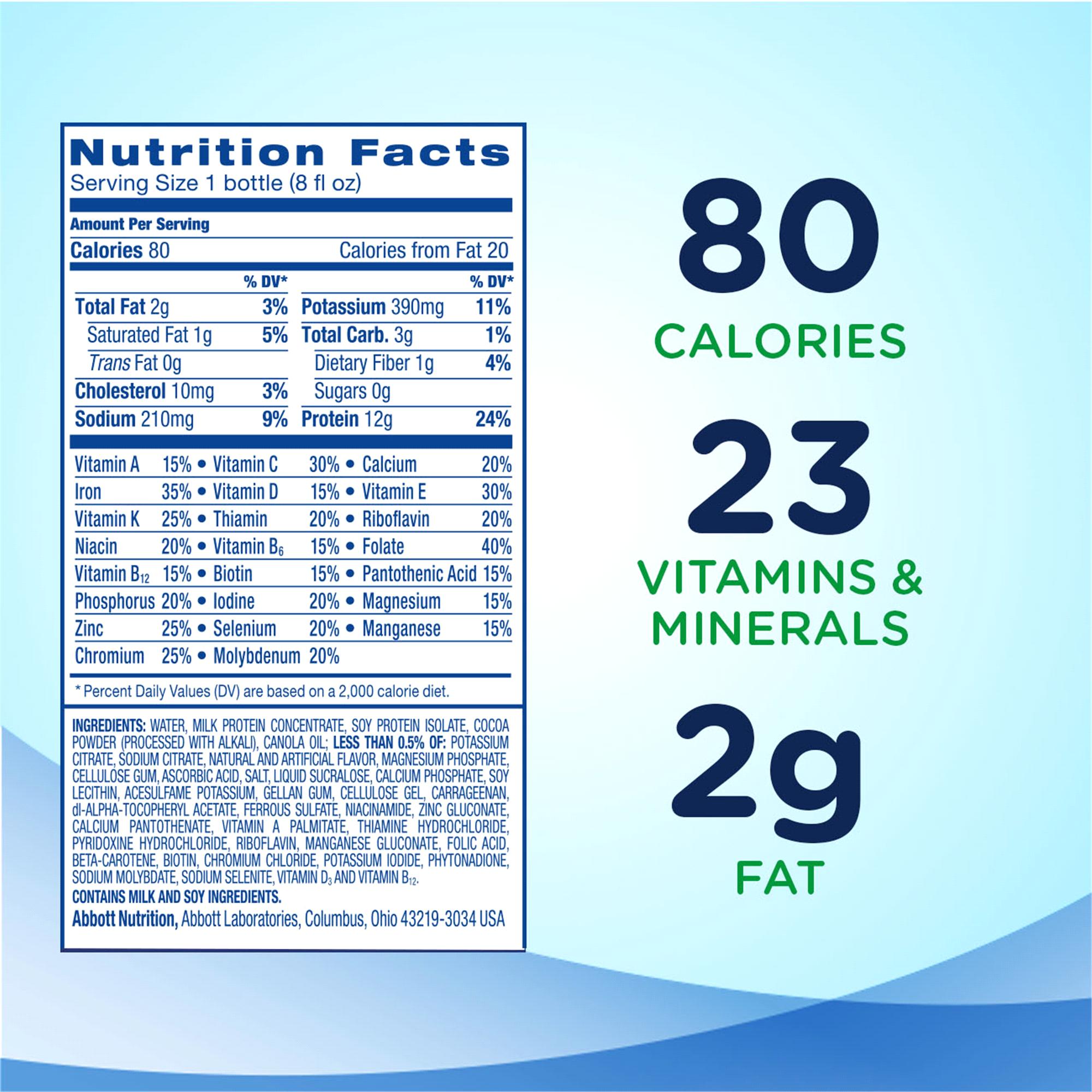 Ensure® Light Nutrition Shake Chocolate 8 fl oz Pack of 6 | Meijer.com