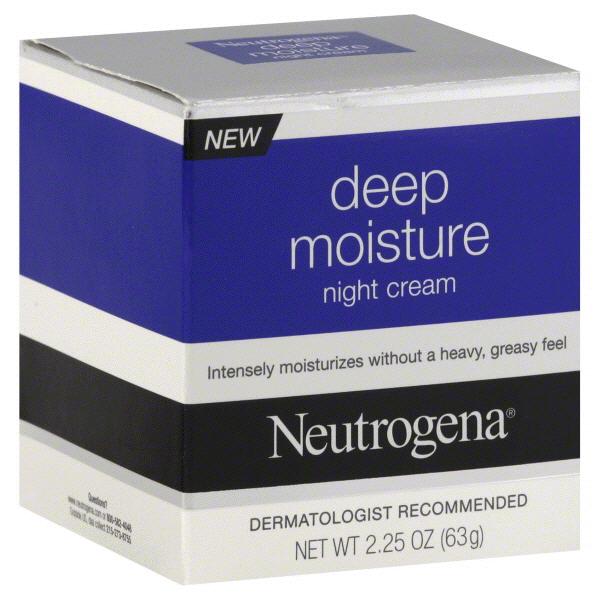562129fbf9a9 Neutrogena Deep Moisture Night Cream 2.25 oz