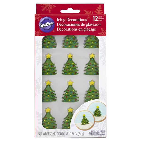 wilton royal icing decorations christmas tree