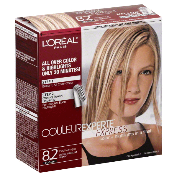 Loreal Paris Couleur Experte All Over Color And Highlights 82 Iced