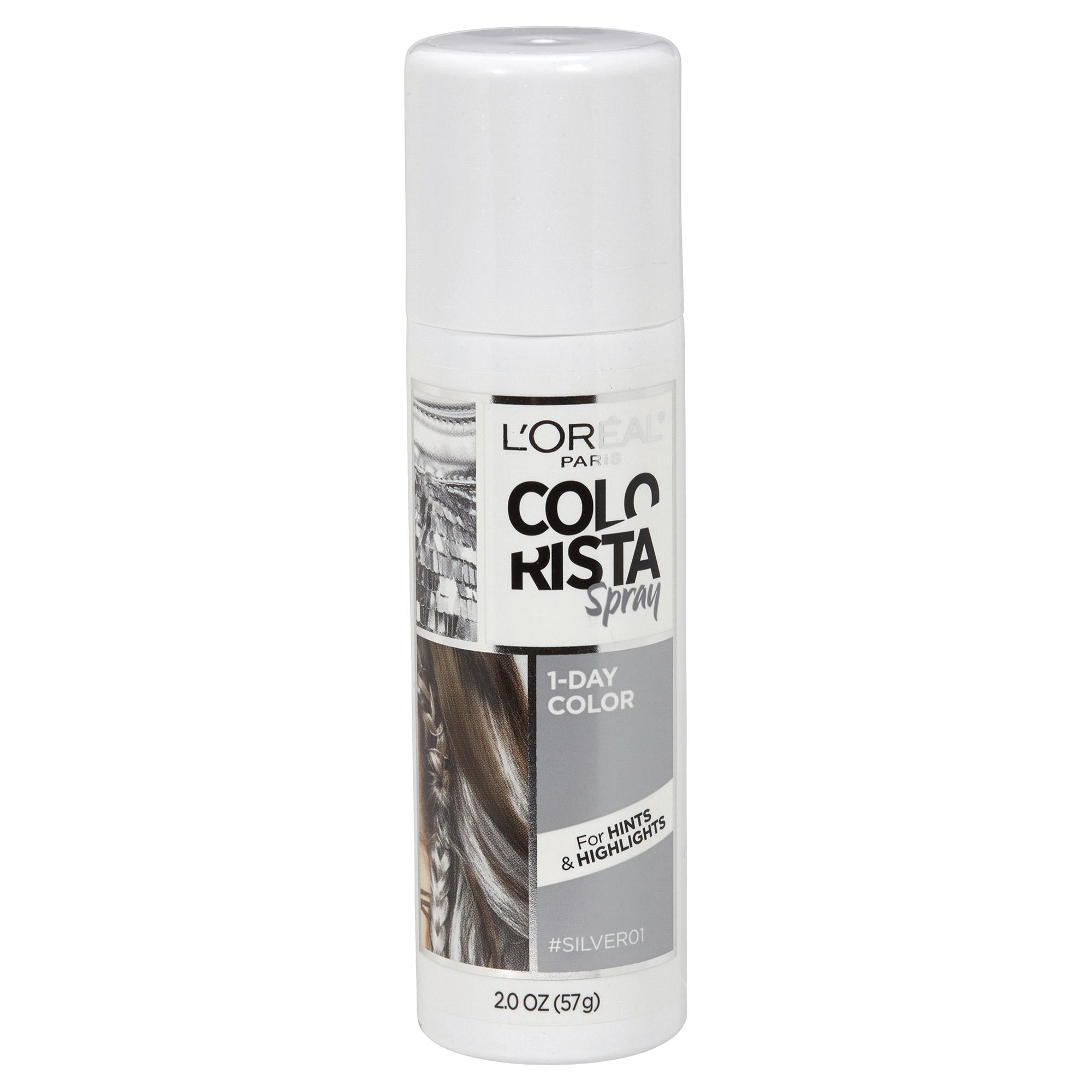 LOréal® Paris Colorista 1-Day Spray Silver 2 oz   Meijer.com