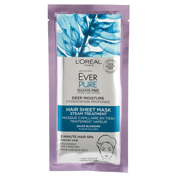 Image result for L'Oréal Paris EverPure Deep Moisture Hair Sheet Mask