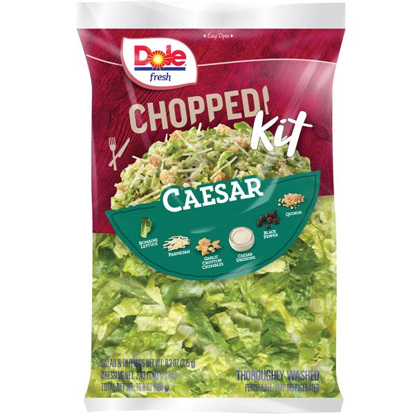 Dole Chopped Caesar Salad Kit Bag 10 8 Oz