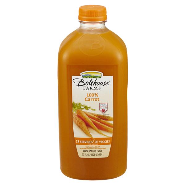 Bolthouse Farms 100 Carrot Juice 52 Fl Oz Meijer Com