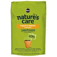 Miracle Gro Natures Care Organic Potting Mix With Water Conserve 8 Quart