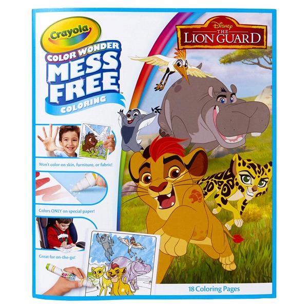 Crayola Color Wonder Mess Free Lion Guard 18pg Coloring Pad | Meijer.com