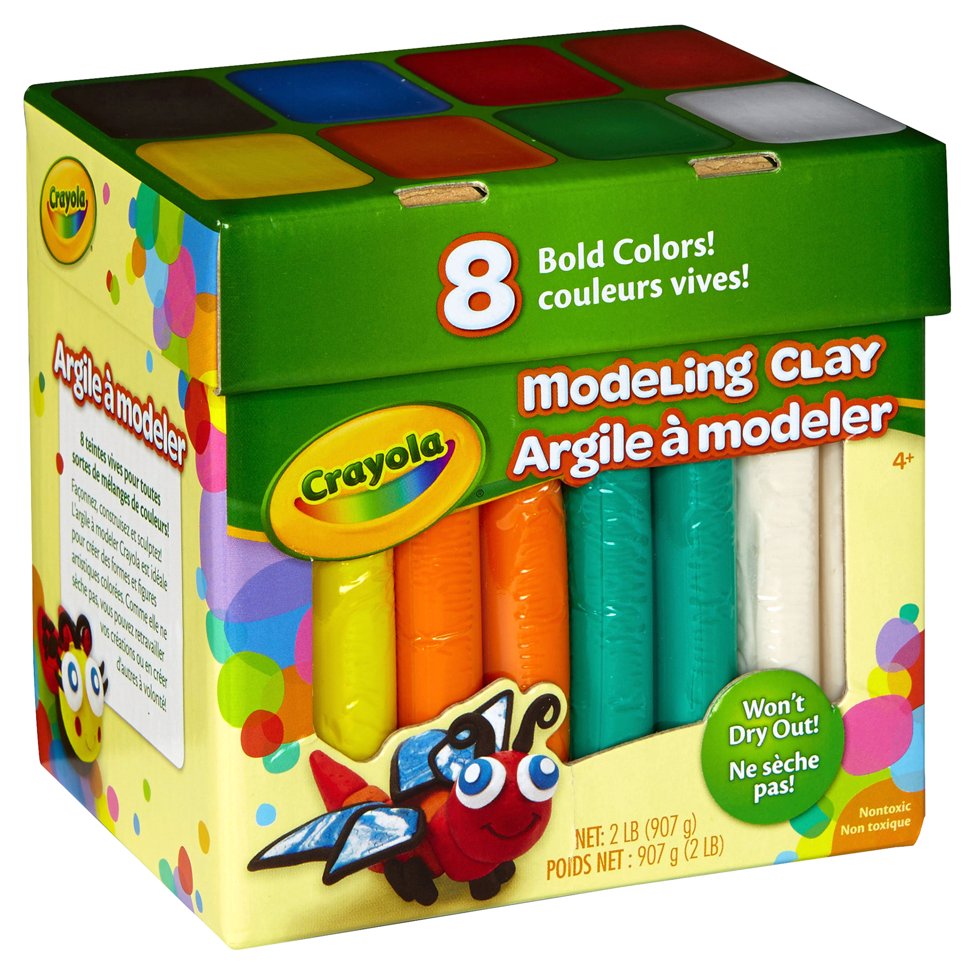 Crayola Modeling Clay Bold Colors 8 ct   Meijer.com