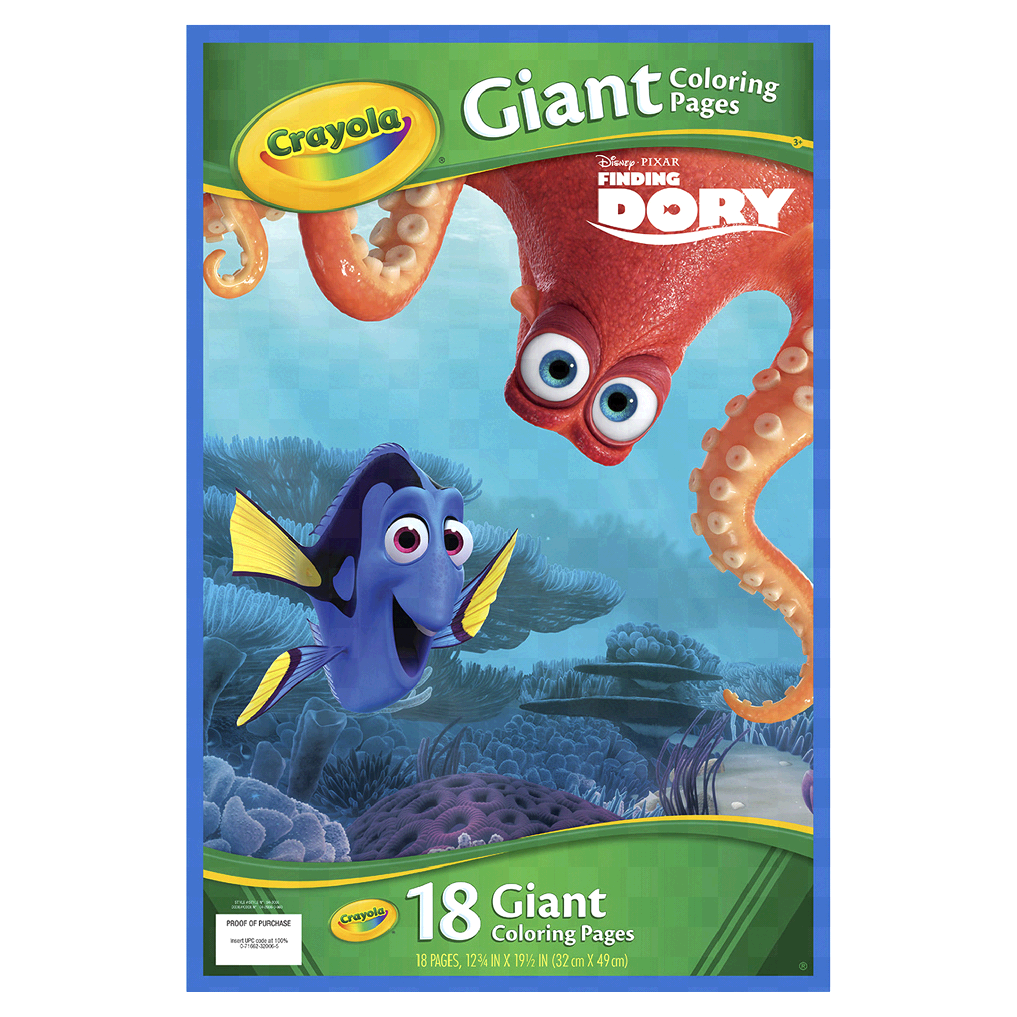 Crayola Finding Dory Giant Coloring Pages | Meijer.com