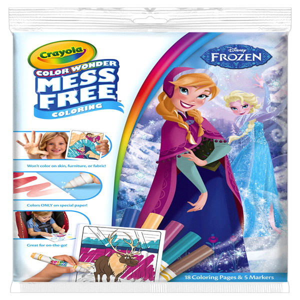 Crayola Color Wonder Frozen Coloring Pad and Markers | Meijer.com