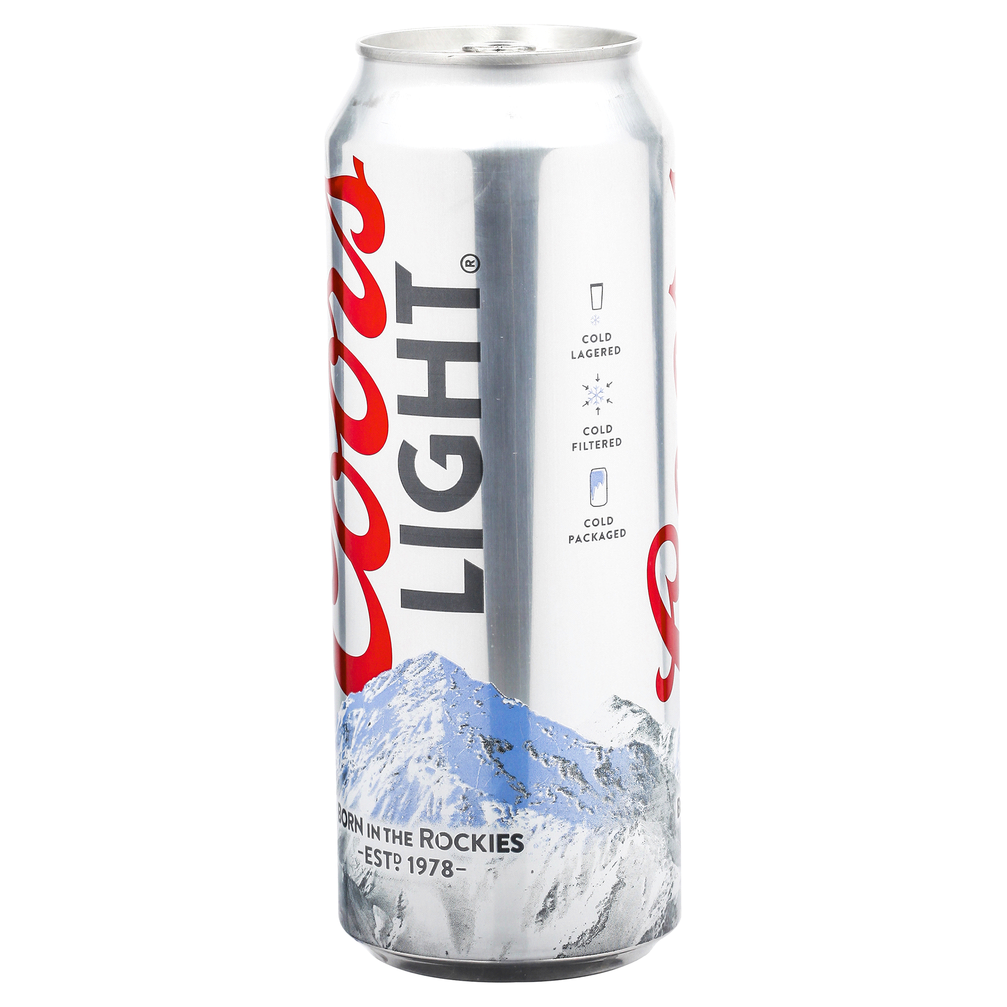 How Much Alcohol Does A 24 Oz Of Coors Light Have