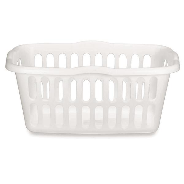 Sterilite 1 5 Bushel Rectangular Laundry Basket White