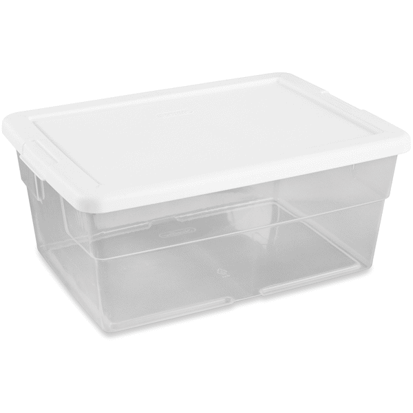 Sterilite 16 Quart Storage Box Clear Meijercom