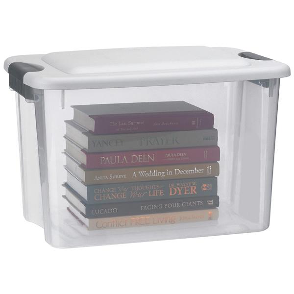 Sterilite 30 Quart Ultra Storage Box Clear