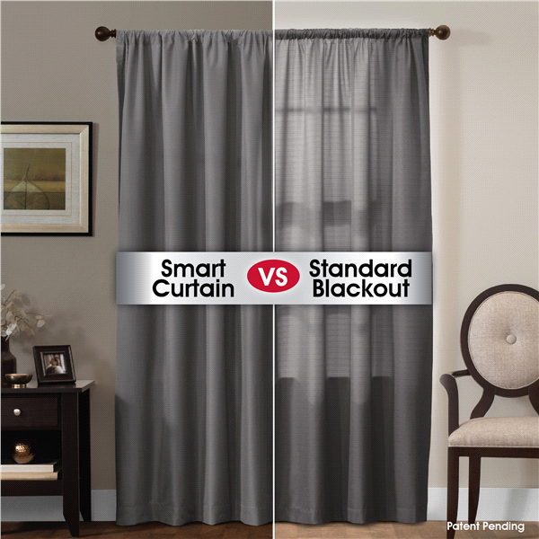 Smart Curtains Julius Certified 100 Percent Ultimate Light Blocker