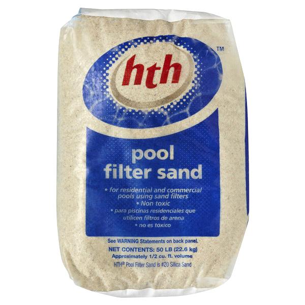 hth® pool filter sand 50 lbs. | meijer.com