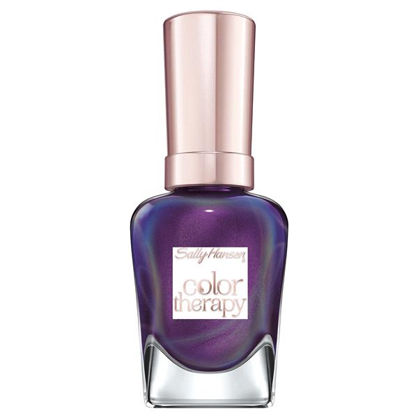 Sally Hansen Color Therapy Nail Polish Plum Euphoria | Meijer.com