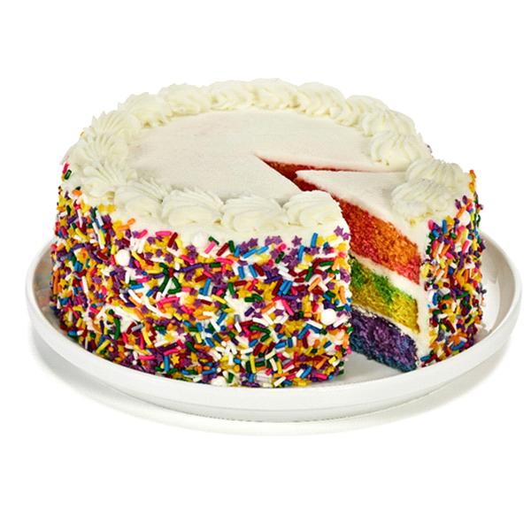 Labrees Rainbow Cake 65 Meijer