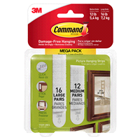 Command™ Clear Decorating Clips, 20 clips